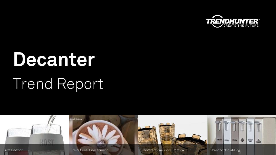 Decanter Trend Report Research