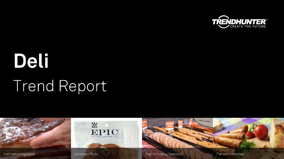 Deli Trend Report Research