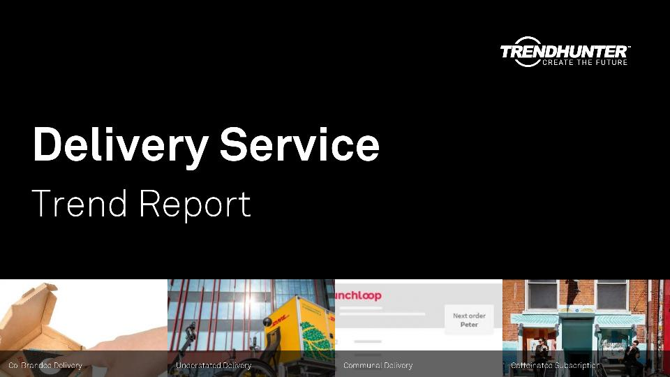 Delivery Service Trend Report Research