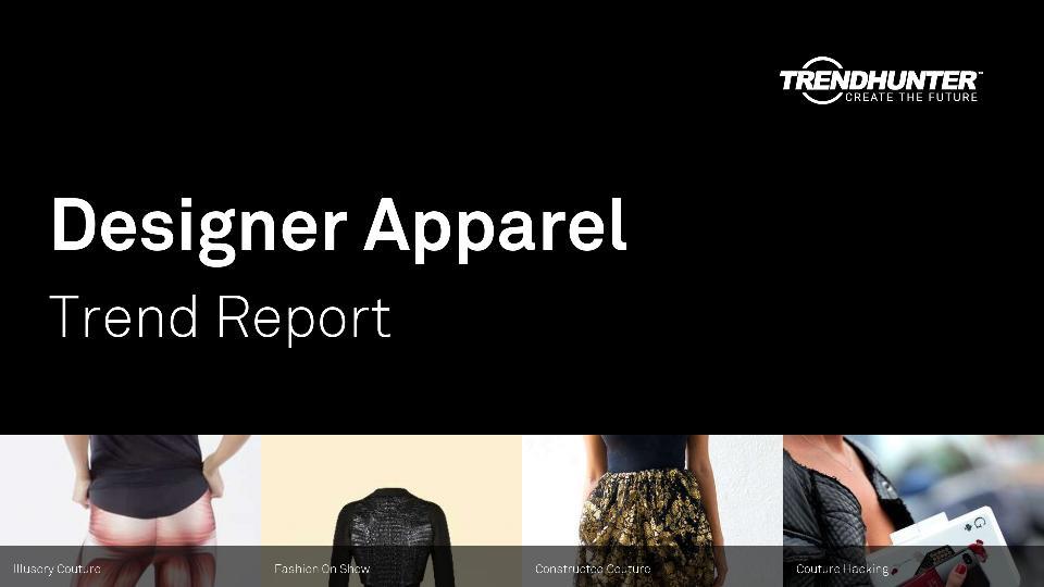 Designer Apparel Trend Report Research