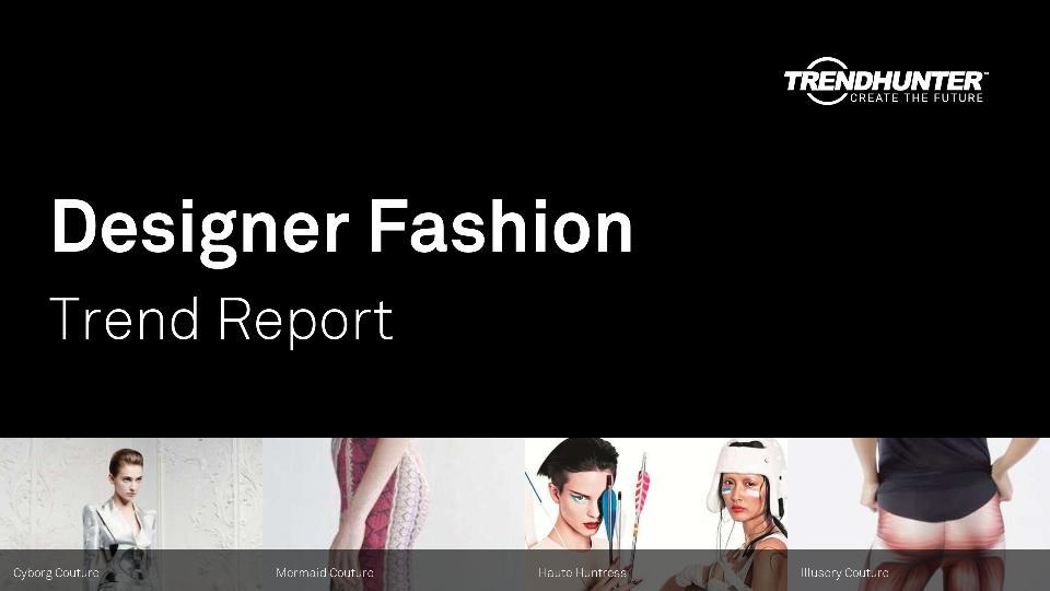 Designer Fashion Trend Report Research