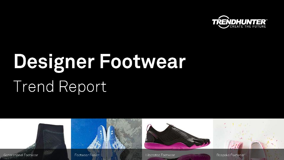 Designer Footwear Trend Report Research