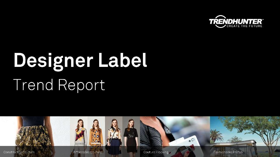 Designer Label Trend Report Research