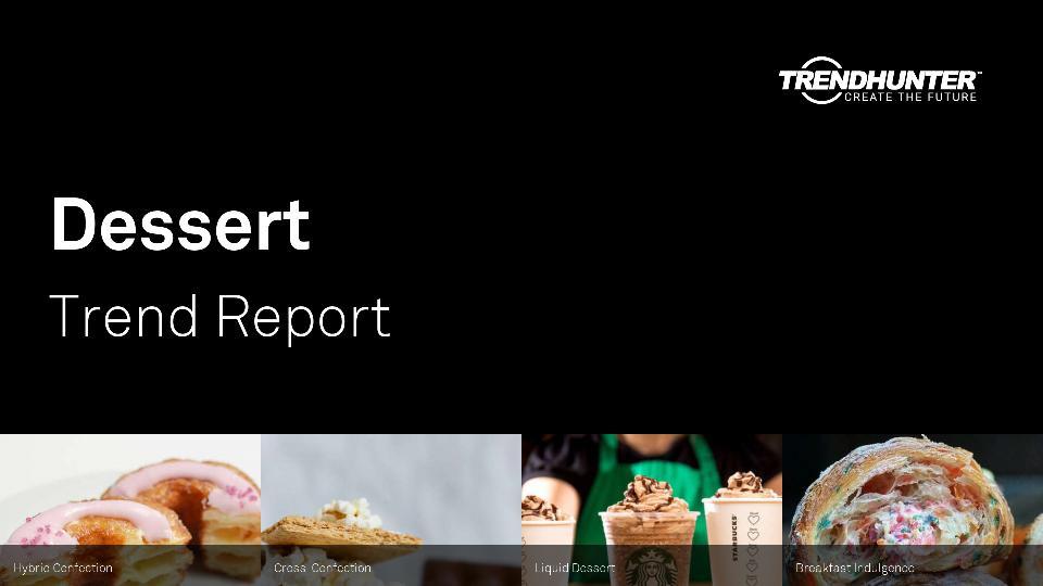Dessert Trend Report Research