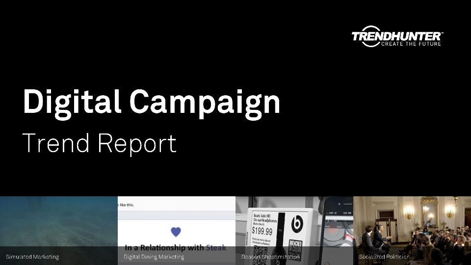 Digital Campaign Trend Report Research