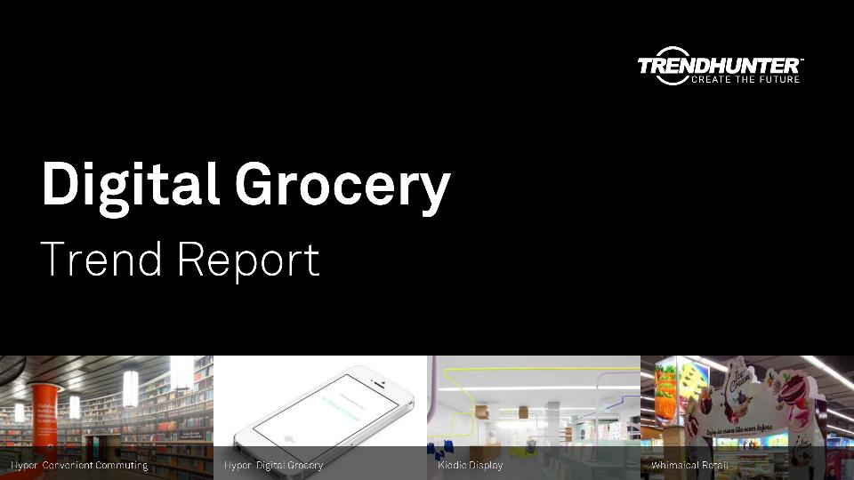 Digital Grocery Trend Report Research