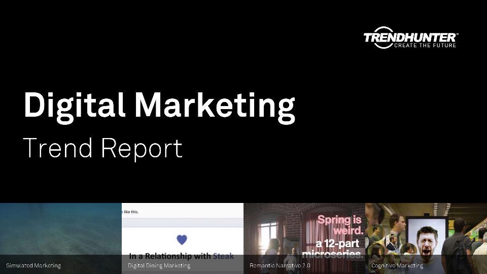 Digital Marketing Trend Report Research