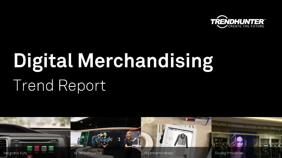 Digital Merchandising Trend Report Research