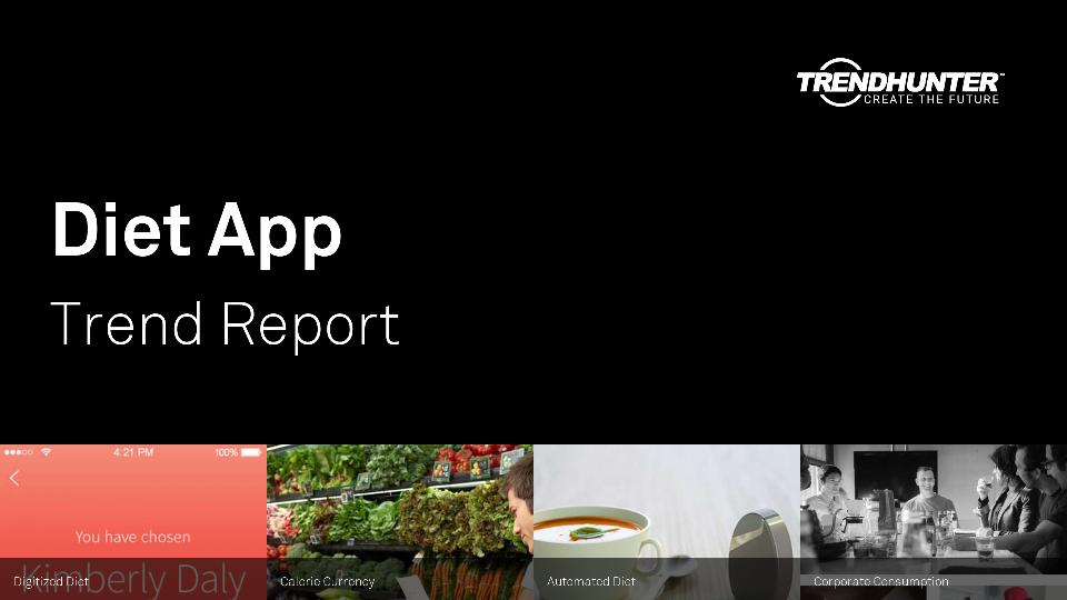Diet App Trend Report Research
