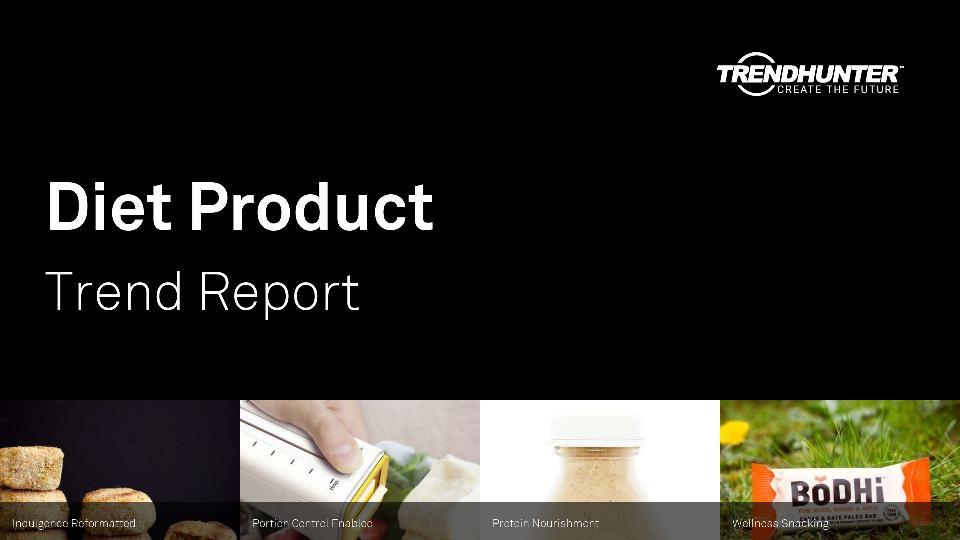 Diet Product Trend Report Research