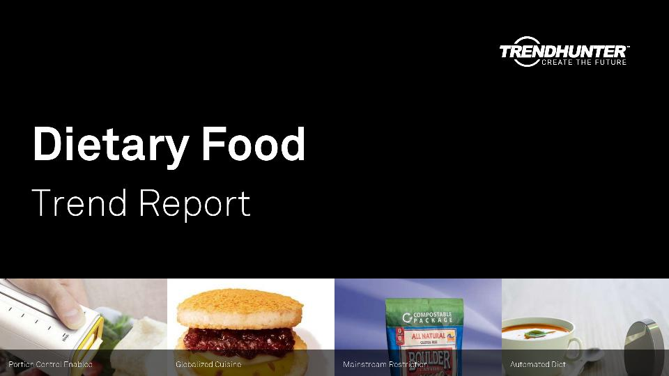 Dietary Food Trend Report Research