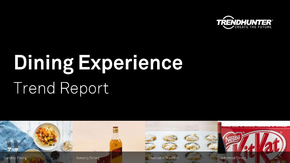 Dining Experience Trend Report Research