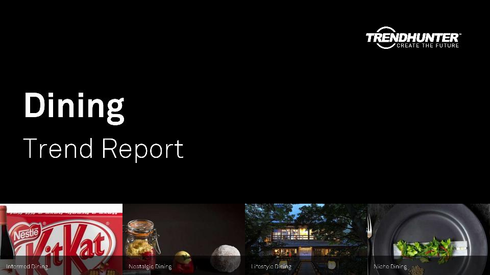 Dining Trend Report Research