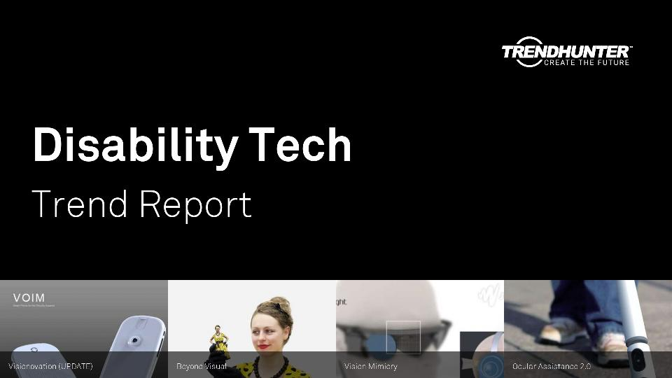 Disability Tech Trend Report Research