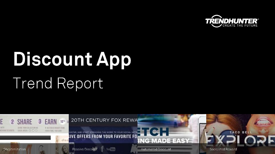 Discount App Trend Report Research