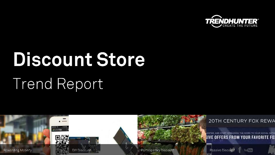 Discount Store Trend Report Research