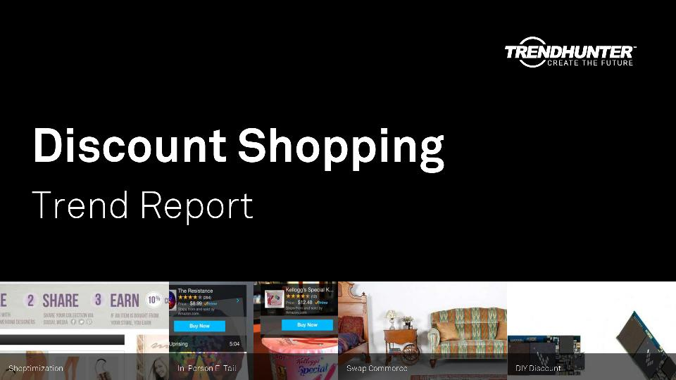 Discount Shopping Trend Report Research