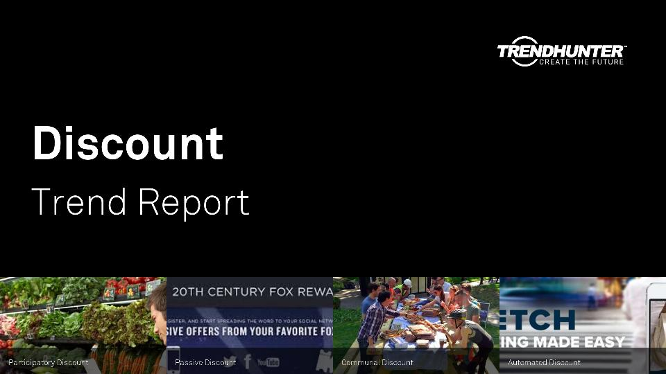 Discount Trend Report Research