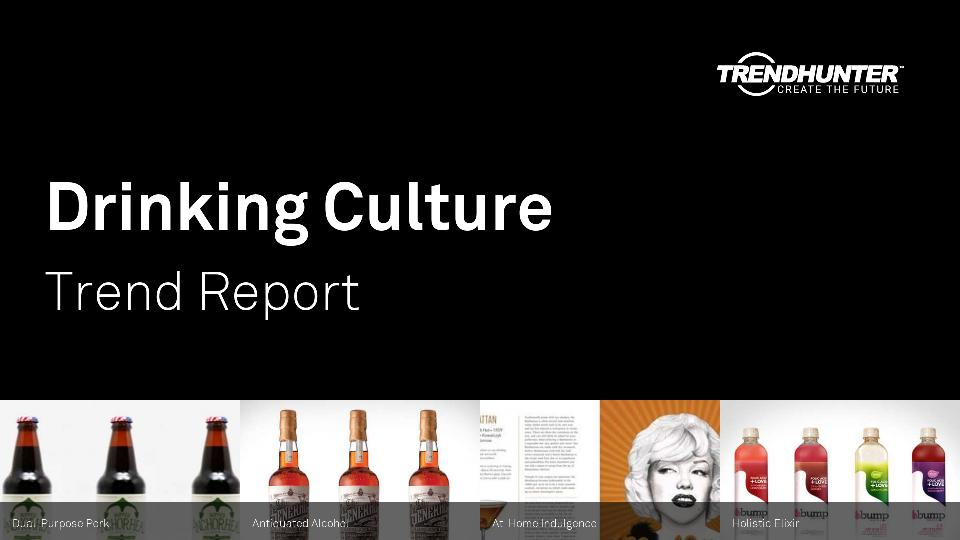 Drinking Culture Trend Report Research
