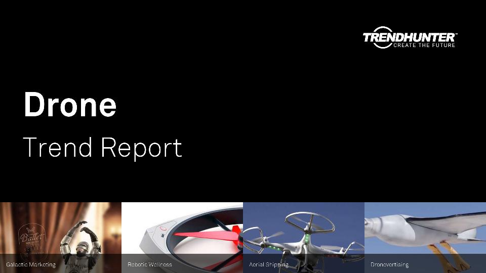 Drone Trend Report Research