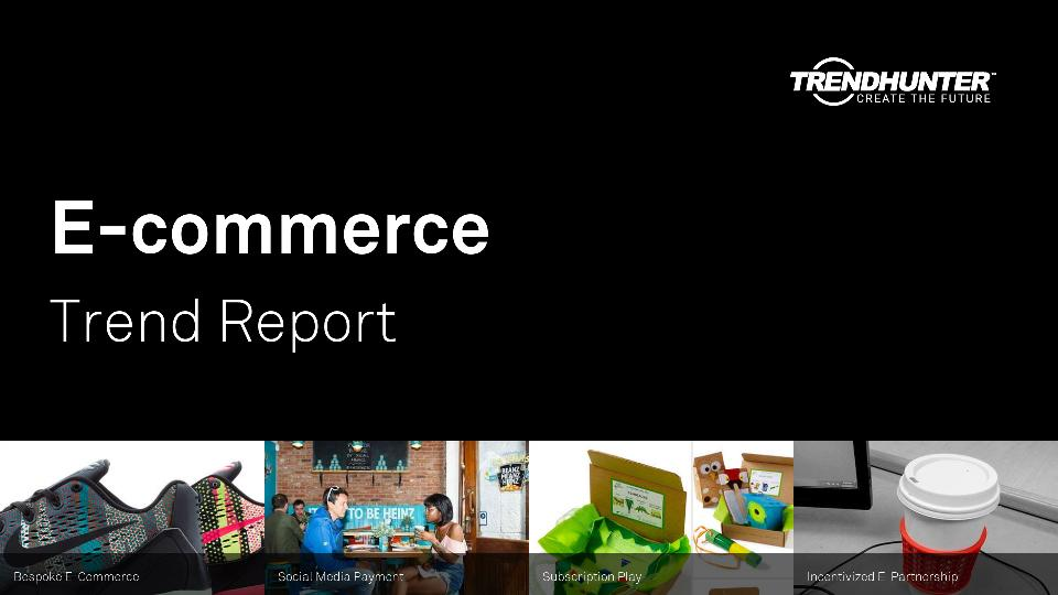 E-commerce Trend Report Research
