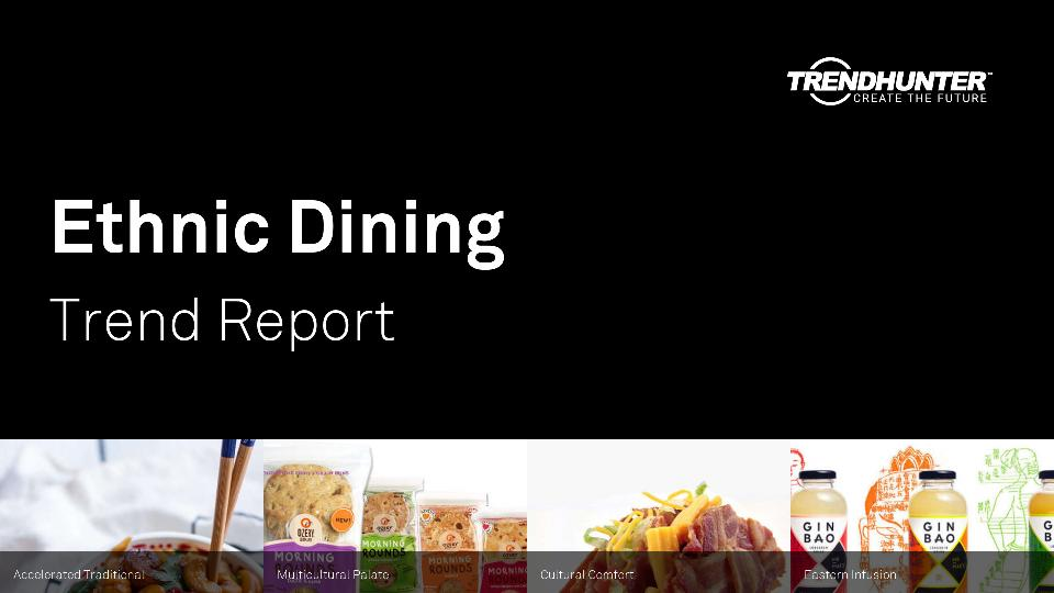 Ethnic Dining Trend Report Research