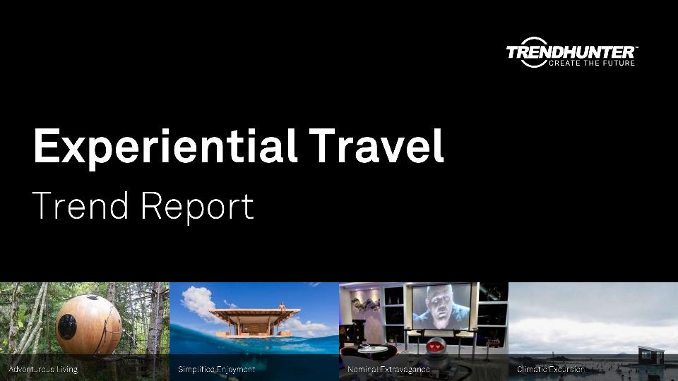 Experiential Travel Trend Report Research