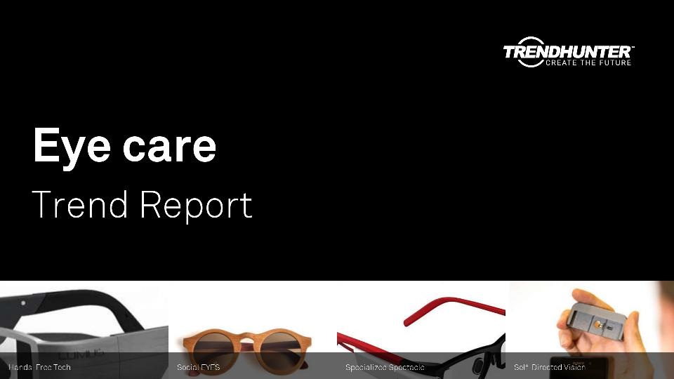 Eye care Trend Report Research
