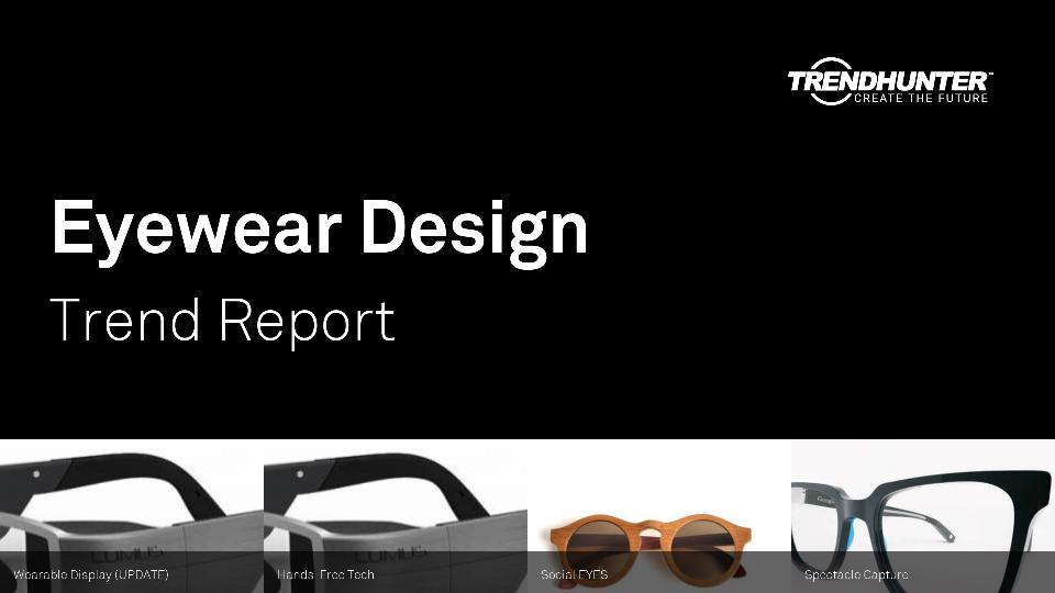 Eyewear Design Trend Report Research