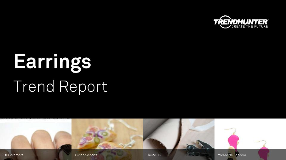 Earrings Trend Report Research