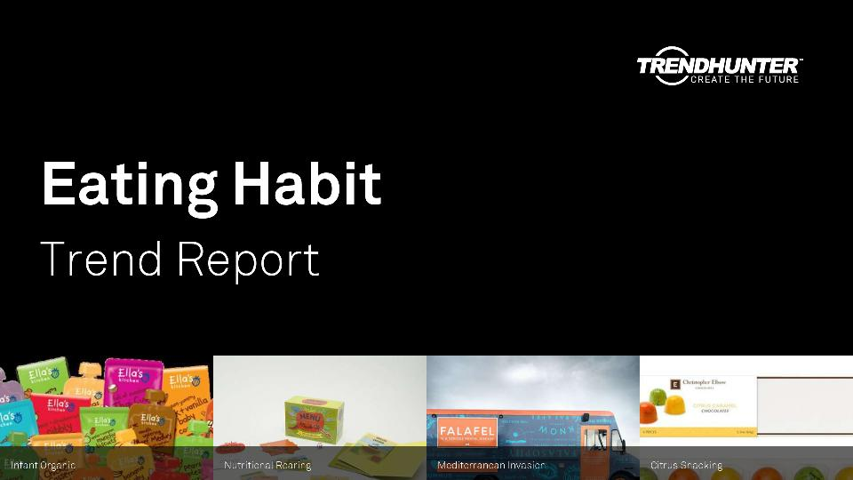 Eating Habit Trend Report Research