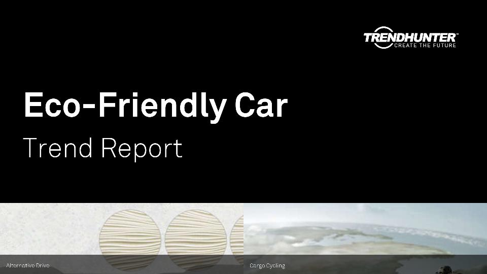 Eco-Friendly Car Trend Report Research
