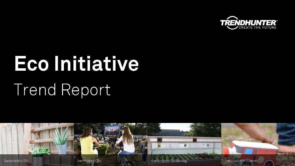 Eco Initiative Trend Report Research