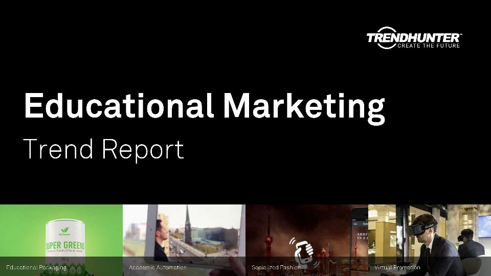 Educational Marketing Trend Report Research