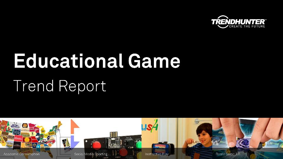 Educational Game Trend Report Research
