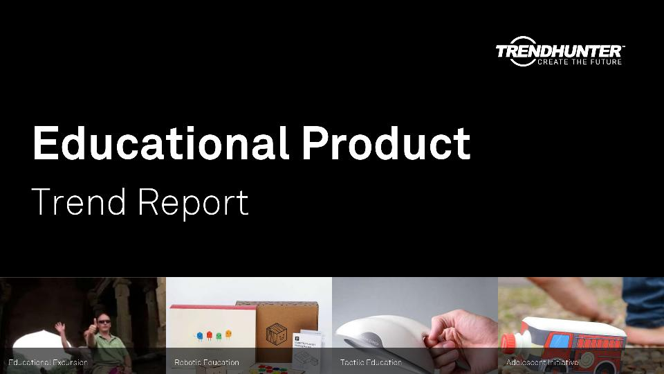 Educational Product Trend Report Research