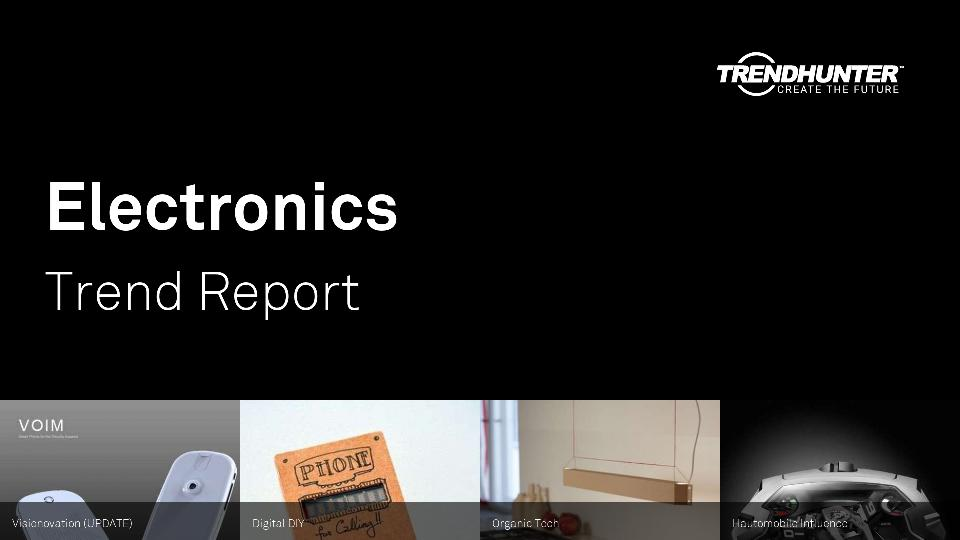 Electronics Trend Report Research