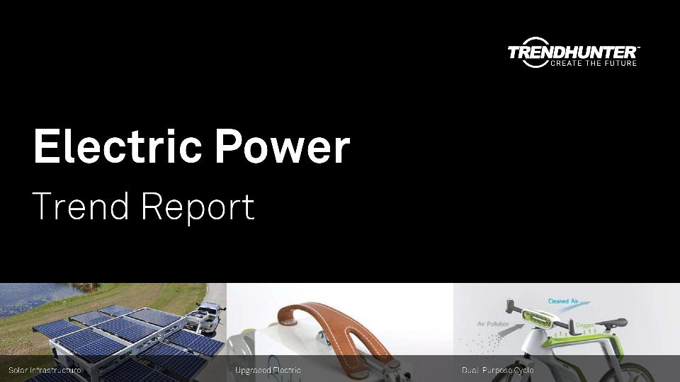 Electric Power Trend Report Research