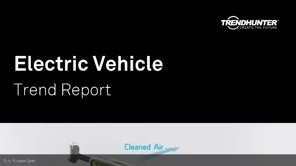 Electric Vehicle Trend Report Research