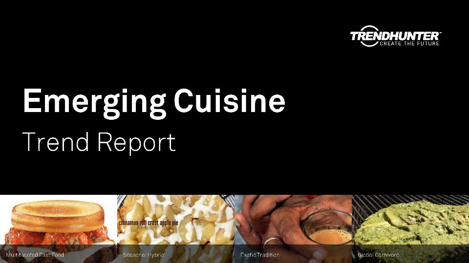 Emerging Cuisine Trend Report Research