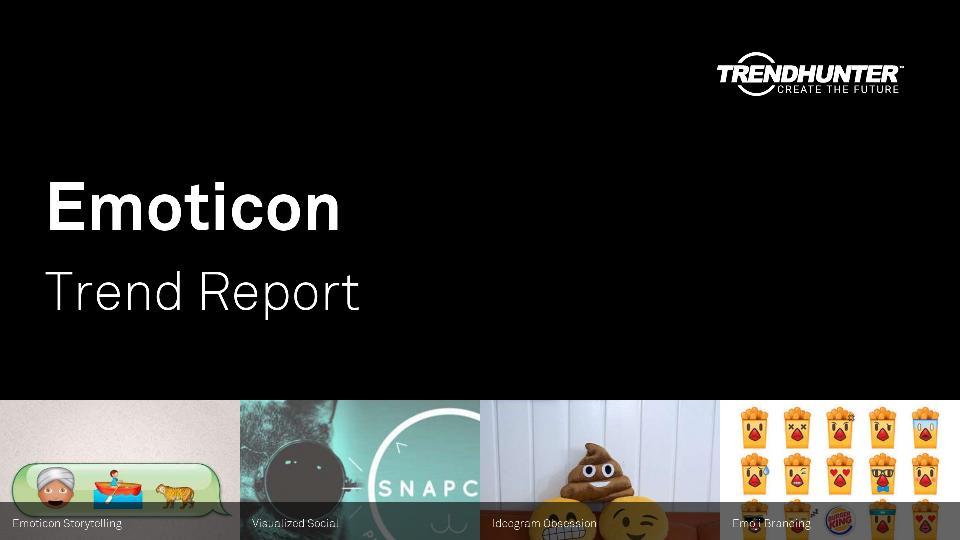 Emoticon Trend Report Research