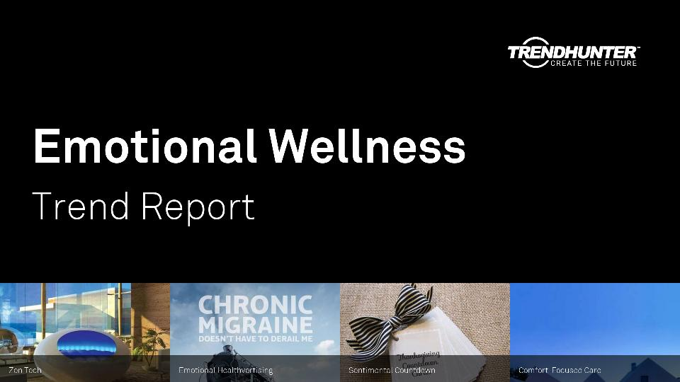 Emotional Wellness Trend Report Research