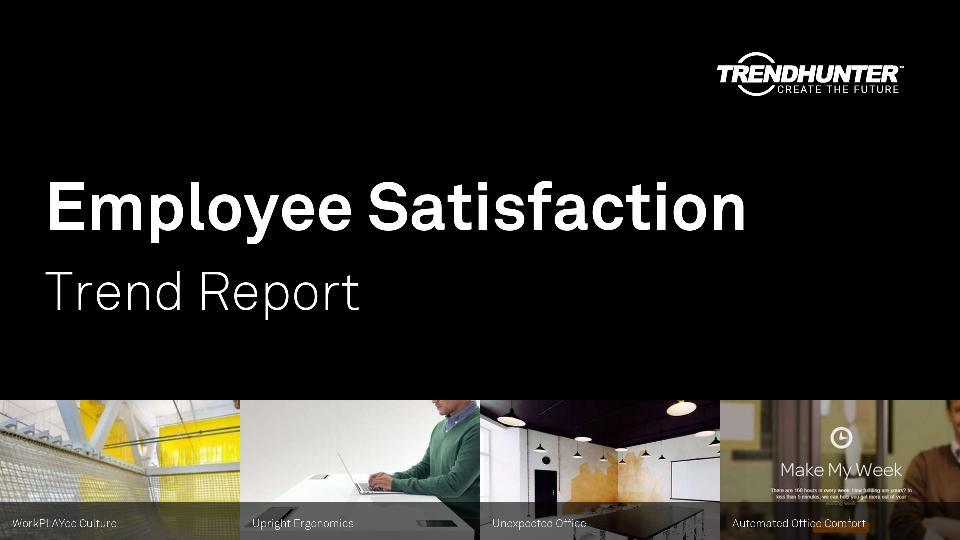 Employee Satisfaction Trend Report Research
