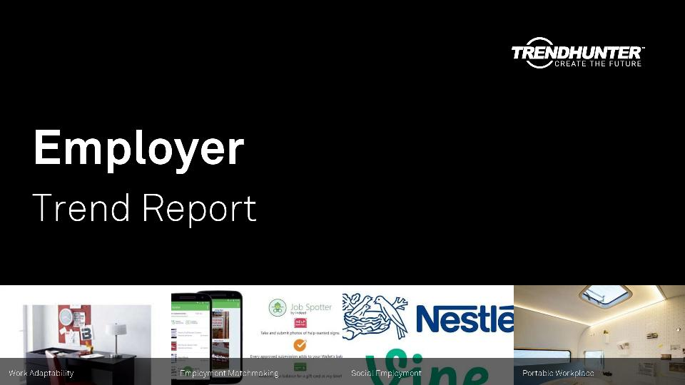 Employer Trend Report Research