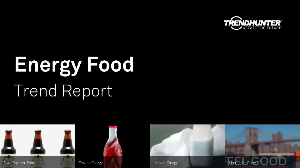 Energy Food Trend Report Research