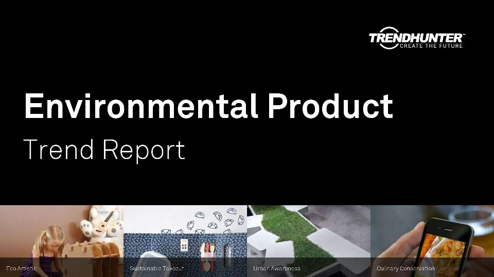 Environmental Product Trend Report Research