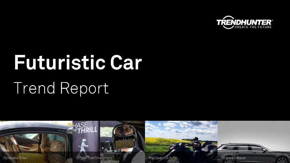 Futuristic Car Trend Report Research