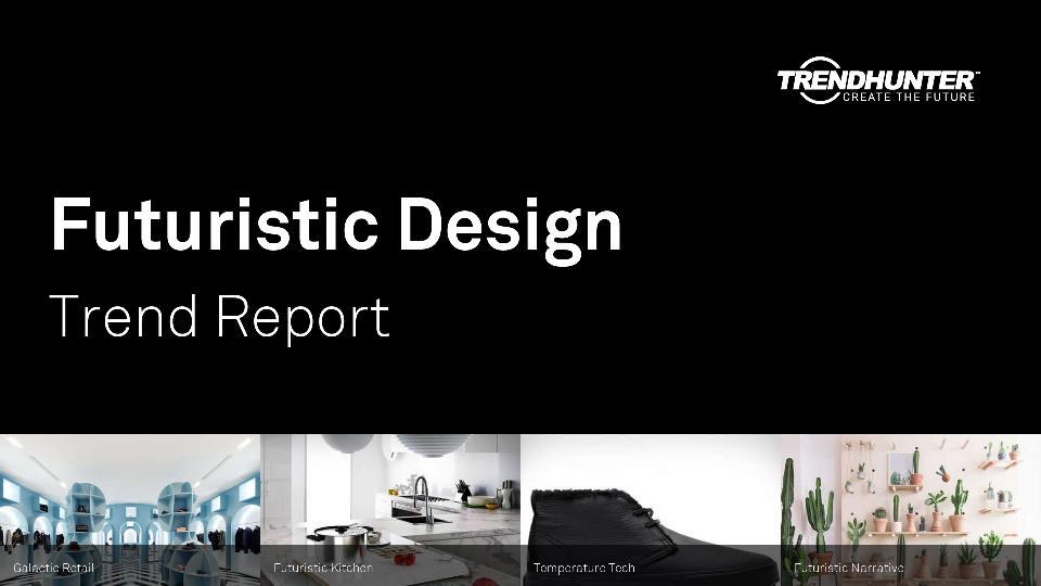 Futuristic Design Trend Report Research