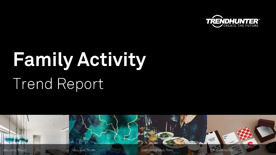 Family Activity Trend Report Research