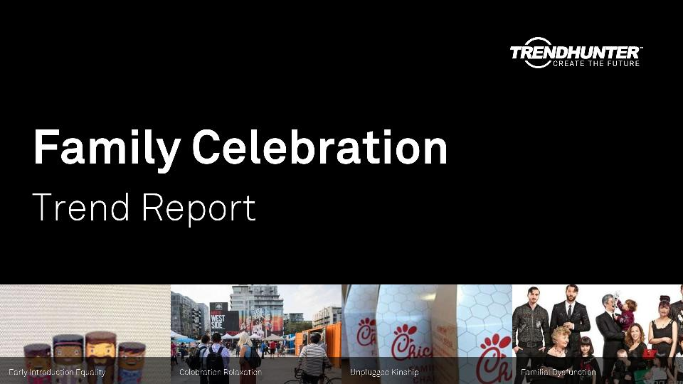 Family Celebration Trend Report Research